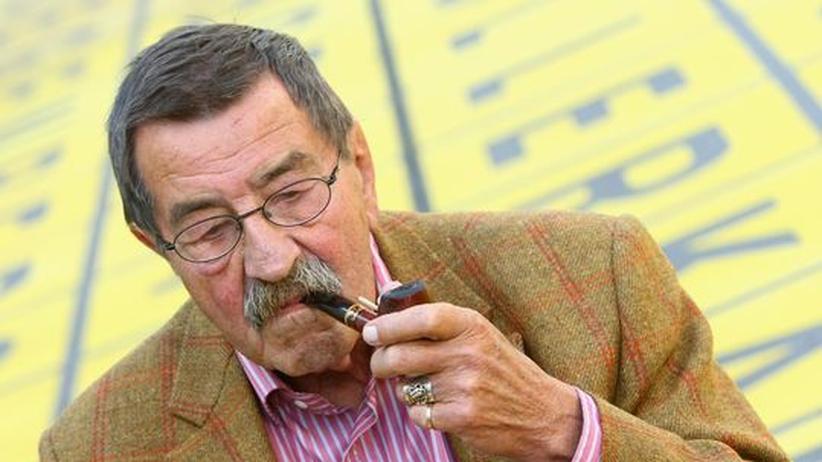 Günter Grass: Günter Grass, 81 Jahre, Wahlkämpfer, Nobelpreisträger