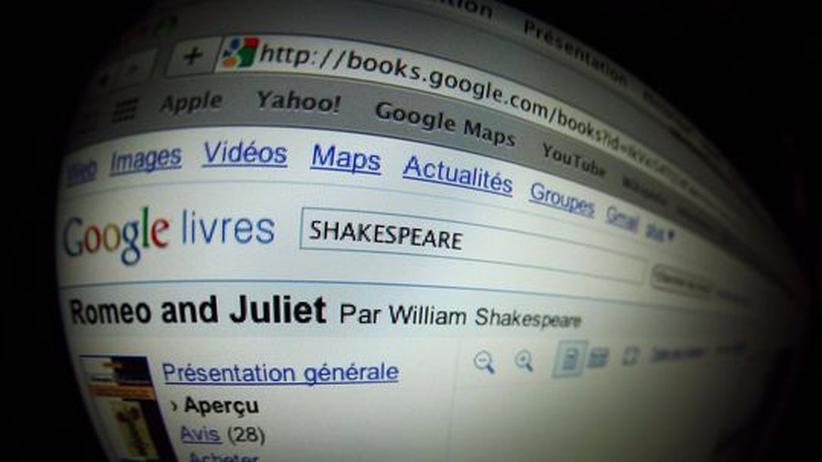 Buchbranche: Was kommt mit Googlebooks? Keiner weiß, wie viel den Verlagen künftig von ihrem Geschäft bleibt