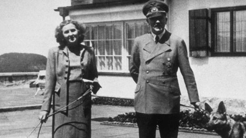 Eva Braun: Eva Braun und Adolf Hitler im Jahr 1940
