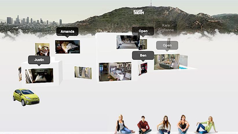 """Castingshow """"If I Can Dream"""": Die WG im Netz: """"If I Can Dream"""" wirkt wie eine pervertierte Form von Big Brother"""