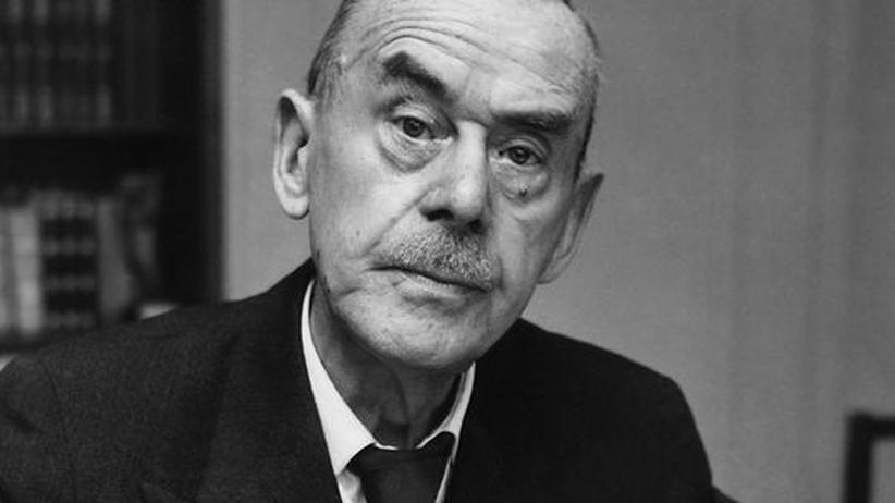 Thomas Mann: Thomas Mann, 1952 in Zürich