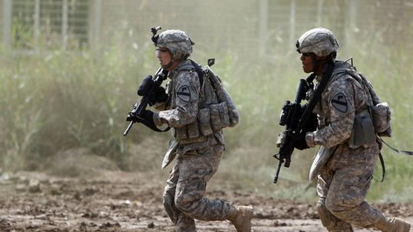 Kriegsopfer: Amerikaner im Irak