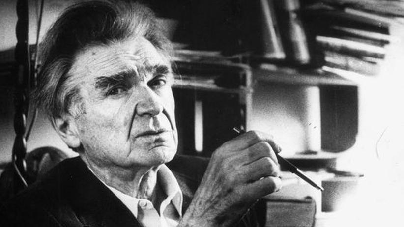 100 Jahre Emil M. Cioran: E. M. Cioran, geboren 1911 in Rasinari (Rumänien). Er starb 1995 in Paris
