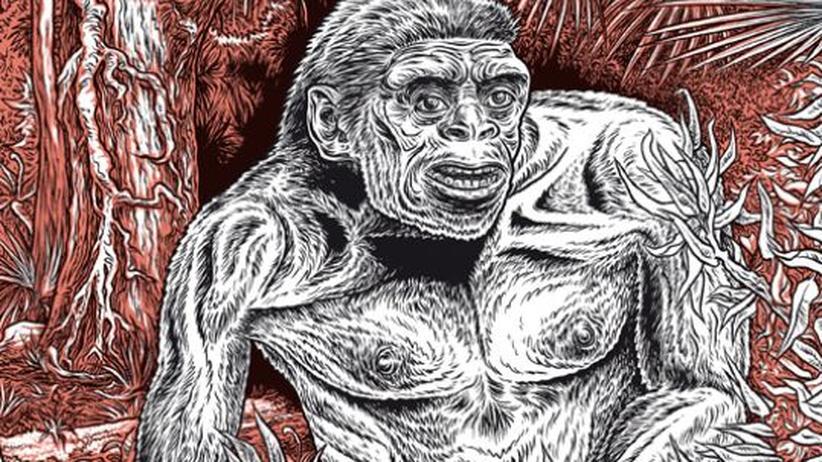 """Comic """"Alpha...directions"""": Festschrift der Evolution"""