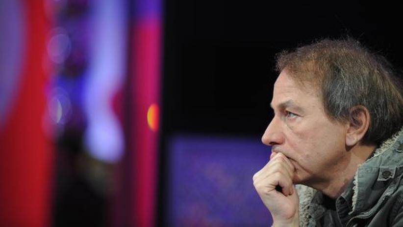 Michel Houellebecq: Michel Houellebecq, hier in einer französischen Fernsehshow 2008, ist in Wahrheit ein Moralist