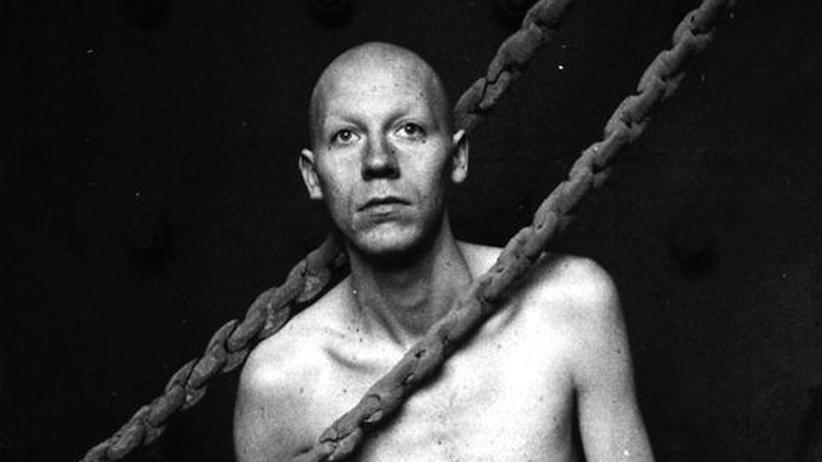 """Matthias Baader Holst: """"Matthias"""" BAAADER Holst, Foto aus dem Buch """"Das Desinteresse: Festschrift für einen Freund"""" von Peter Wawerzinek"""