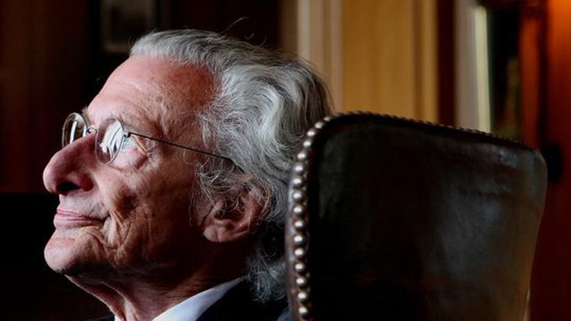 Der niederländische Schriftsteller Harry Mulisch