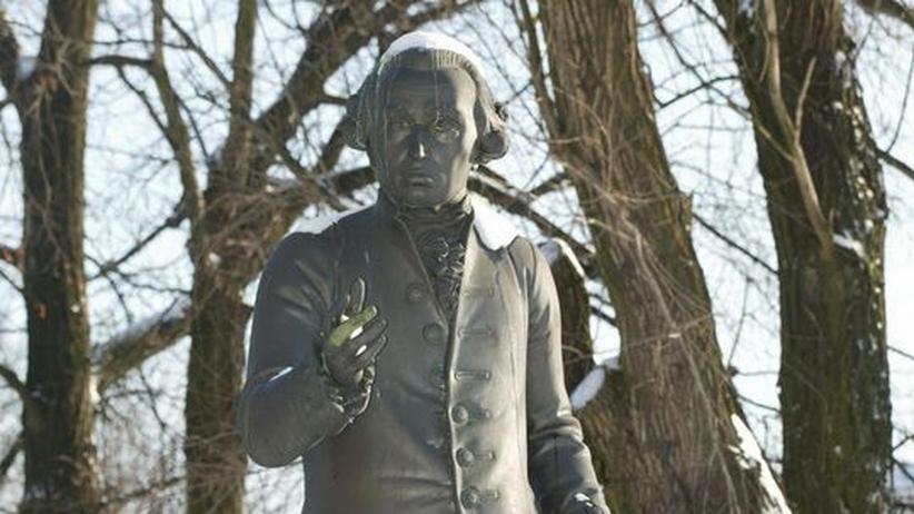Wikileaks: Das Denkmal von Immanuel Kant in Kaliningrad (ehemals Königsberg)