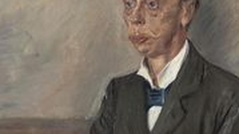"""Eduard von Keyserling """"Wellen"""": Eduard Graf von Keyserling um 1900, gemalt von Lovis Corinth (1858-1925)"""