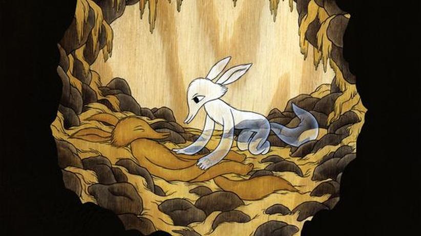 Comic von Moki: Selbsthass im Zauberwald