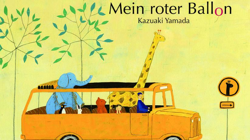 Luchs Nr. 296: Busfahrt mit Giraffe