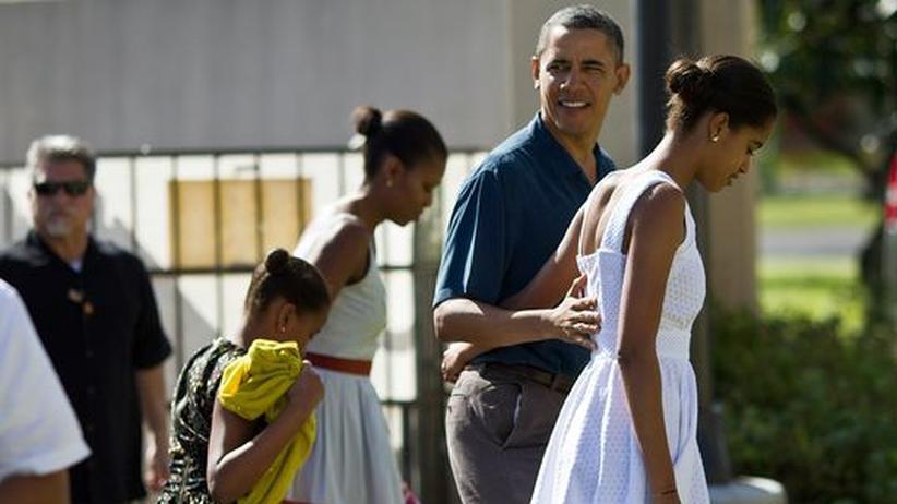 Sachbuch: Familie Obama auf Hawaii