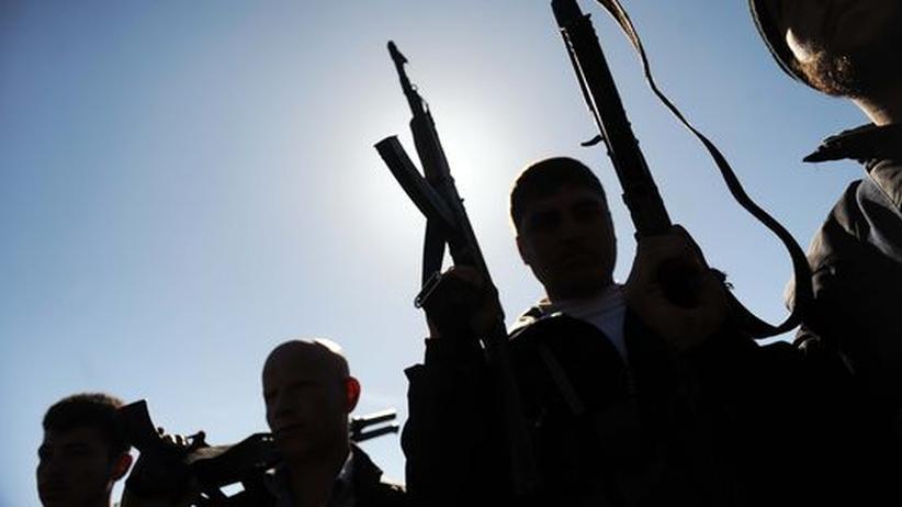 Syrien: Mitglieder der Free Syrian Army in der Nähe von Homs