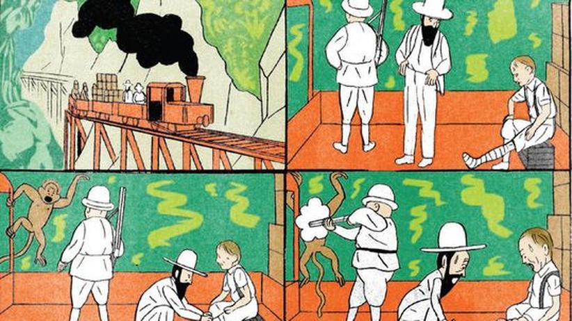 Comic: So roh wie Wilhelm Busch