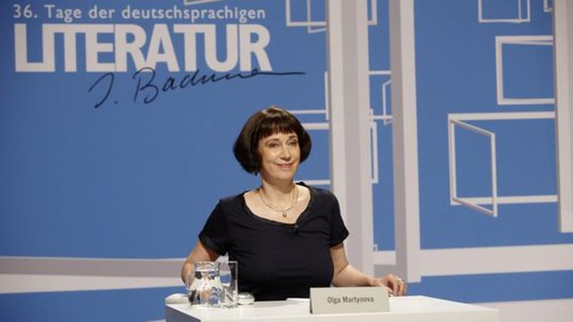Auszeichnung: Bachmann-Preis geht an Olga Martynova