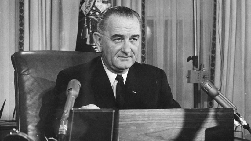 Lyndon B. Johnson: Amerika hat  einen neuen Helden