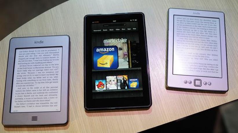 Buchmarkt: Die Lesegeräte von Amazon: Kindle Touch, Kindle Fire und der Kindle E-Bookreader