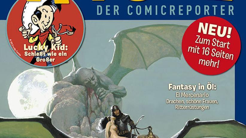 """Comic-Magazin """"Alfonz"""": Der Wüstenfalke trifft auf Batman"""