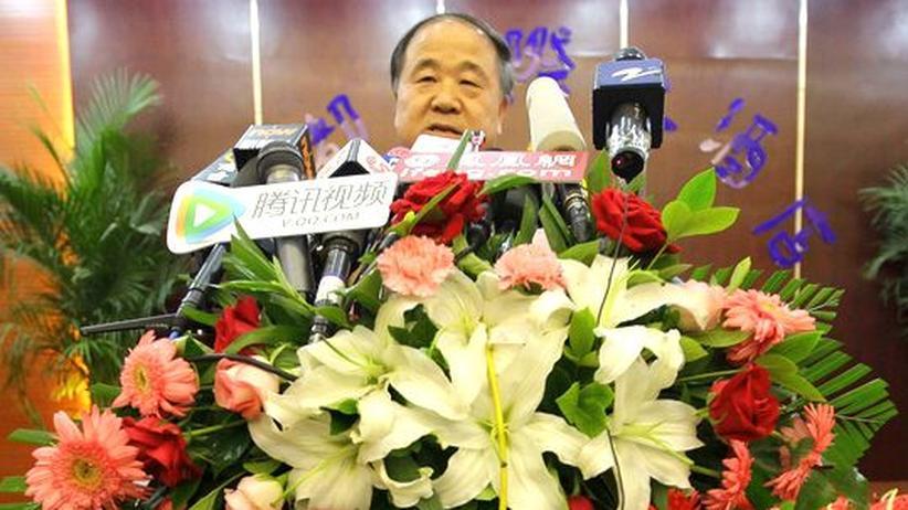 Literaturnobelpreis: Nobelpreisträger Mo Yan fordert Freiheit für Liu Xiaobo
