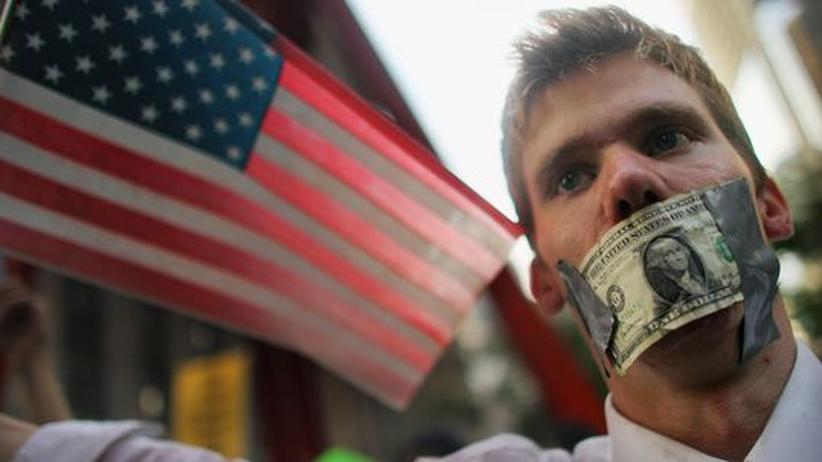 Sachbuch: Occupy-Demonstranten in New York (Archivbild)