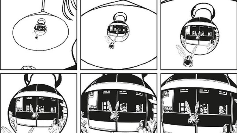 """Comic """"3 Sekunden"""": Ein virtuos zersplitterter Krimi"""