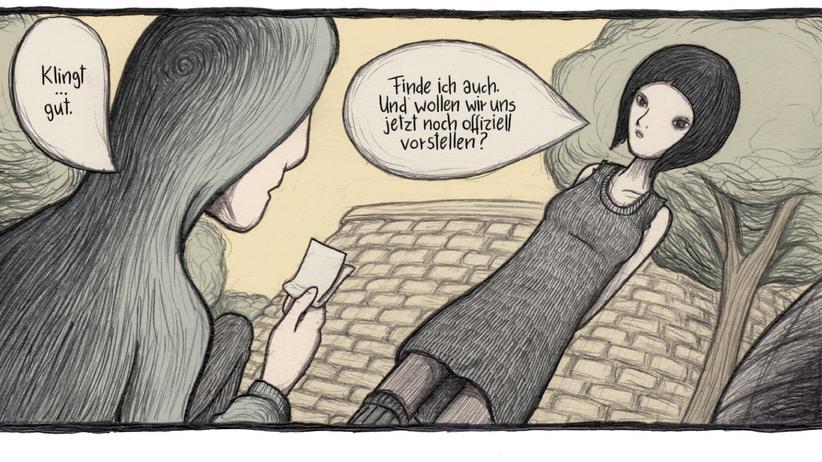 """Graphic Novel """"Vakuum"""": Ich bin der langweiligste Mensch der Welt!"""
