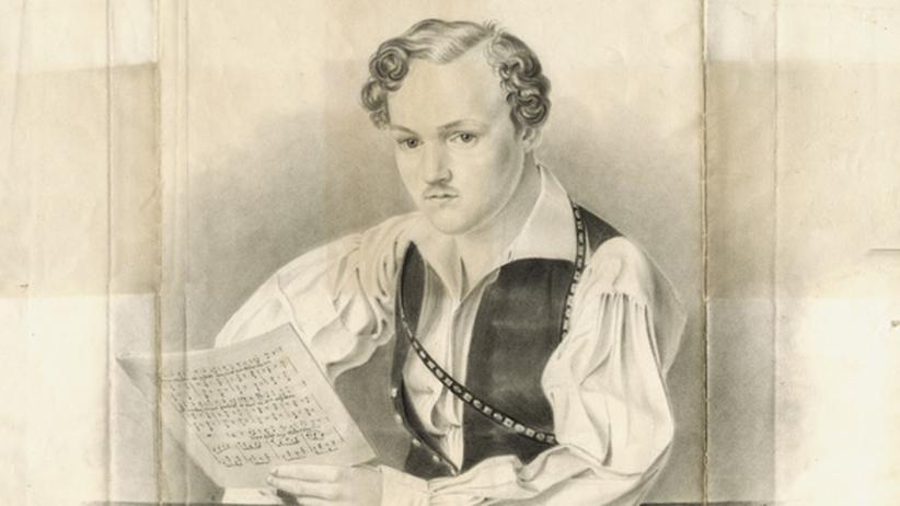 200 Jahre Georg Büchner: Ein 2013 neu entdecktes Porträt Georg Büchners; signiert vom Darmstädter Theatermaler Philipp August Joseph Hoffmann aus dem Jahr 1833
