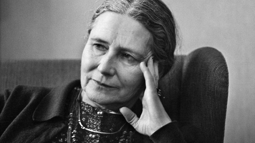 Literatur-Nobelpreisträgerin : Die britische Autorin Doris Lessing