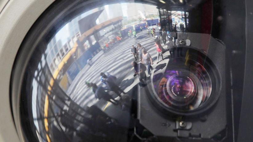 Geheimdienste: Eine Überwachungskamera in New York