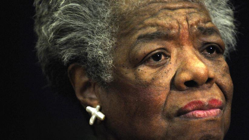 US-Schriftstellerin: US-Lyrikerin Maya Angelou