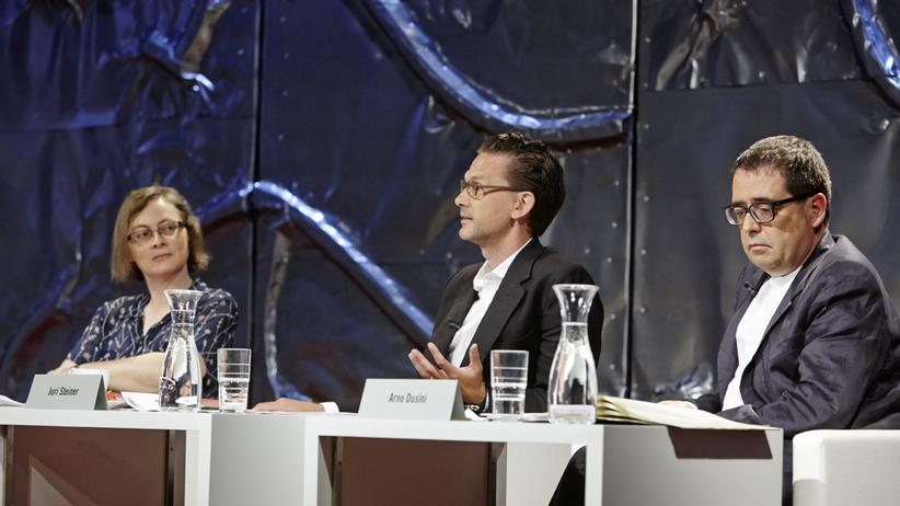 Ingeborg-Bachmann-Preis: Die Juroren Daniela Strigl, Juri Steiner und Arno Dusini