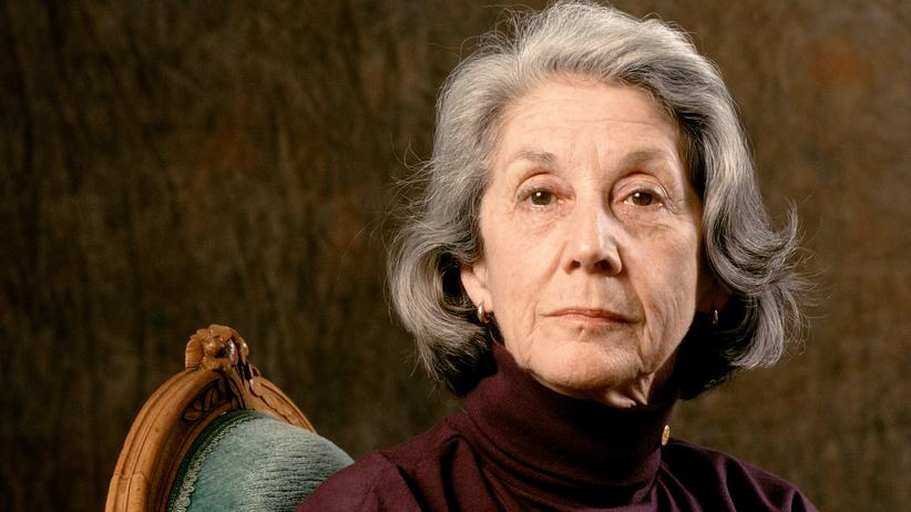 Nadine Gordimer 1993 in Paris