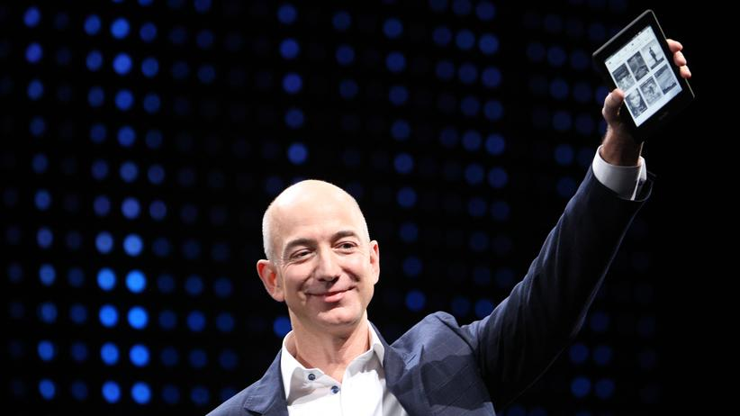 Amazon E-Books Jeff Bezos New York Times