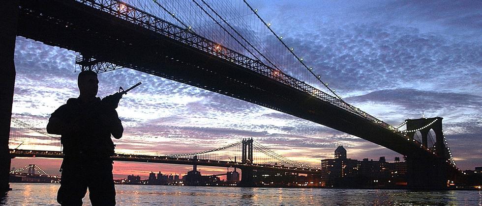 Die Brooklyn Bridge in New York