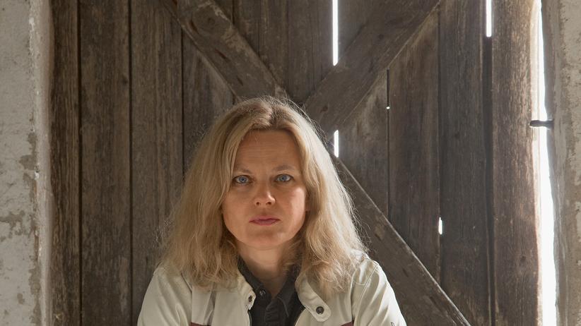 Die Schriftstellerin und Essayistin Karen Duve