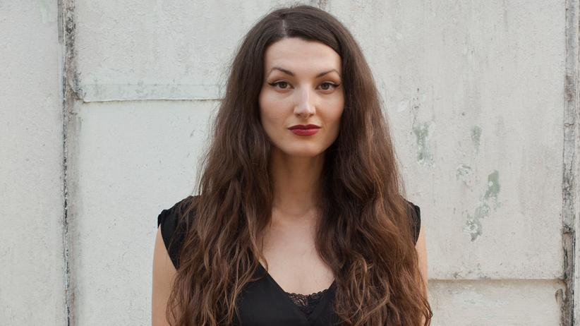 Die Schriftstellerin Simone Lappert
