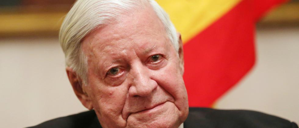 Alt-Bundeskanzler Helmut Schmidt