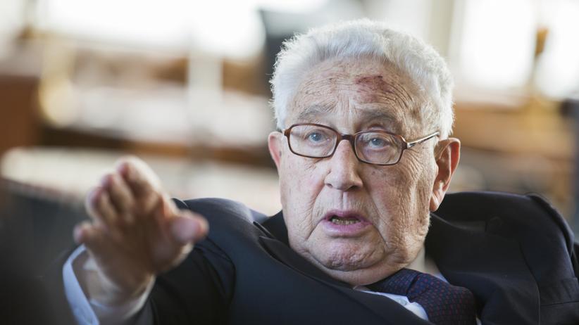 Henry Kissinger: Henry Kissinger bei einem Empfang zu seinem 90. Geburtstag im Juni 2013 in Berlin