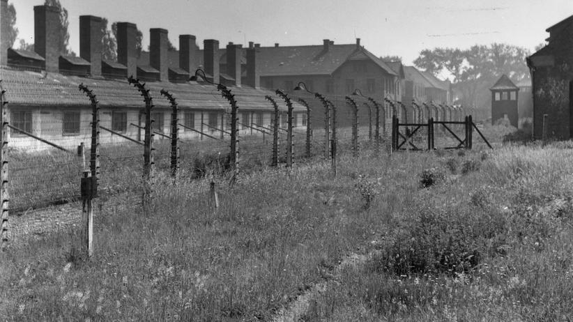 Auschwitz: Eine Baracke in Auschwitz
