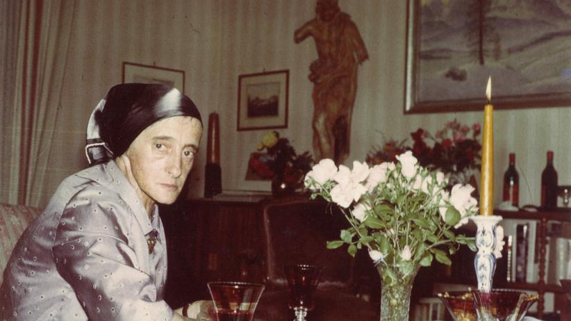 Die Schriftstellerin Christine Lavant
