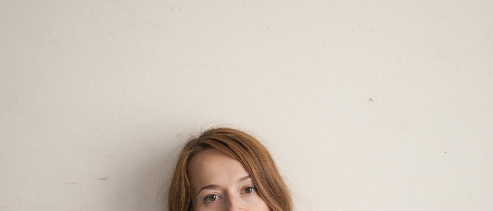 Die Schriftstellerin Sandra Gugić