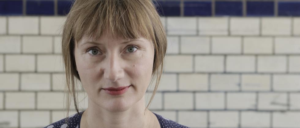 Die Schriftstellerin und Journalistin Kristine Bilkau