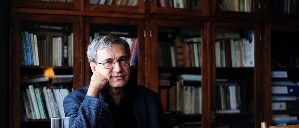 Der Schriftsteller Orhan Pamuk
