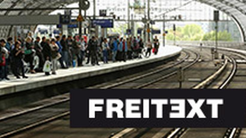 Bahnstreik: Der Hass bleibt auf der Strecke
