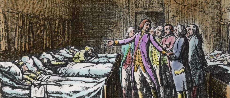 Ein Hospital um das Jahr 1750