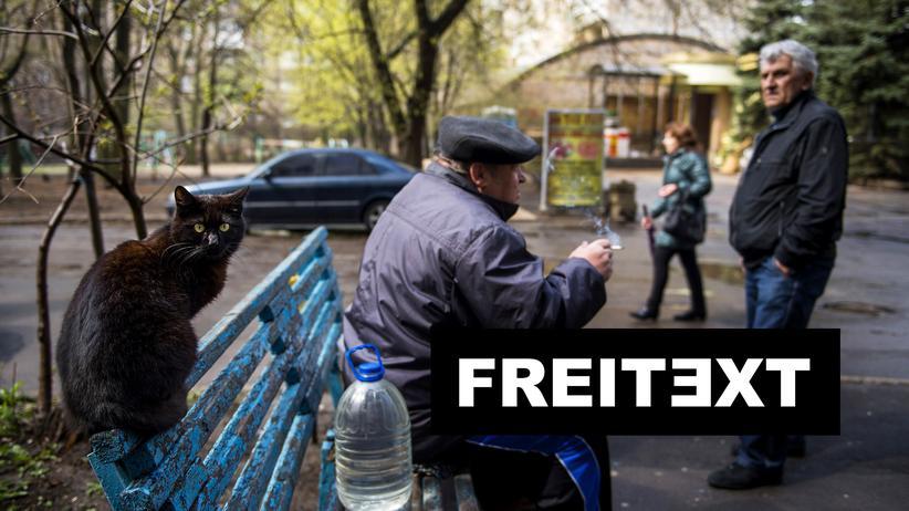 Ukraine : Für den Krieg zu alt, für Demenz zu jung