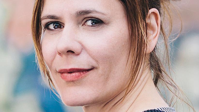 Die Schriftstellerin Monique Schwitter