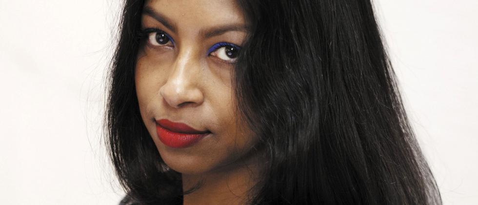 Die Schriftstellerin Shumona Sinha