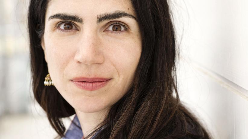 Dana Grigorcea: Dana Grigorcea bei einer Lesung in Klagenfurt