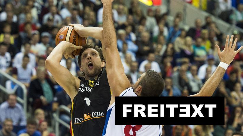 Basketball-EM: Der Flaschengeist am Spielfeldrand